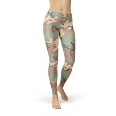 Camouflage Jungle 68 Pattern Camo Leggings