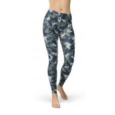Camouflage Navy Pattern Camo Leggings