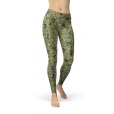 Camouflage NWU Tropic Pattern Camo Leggings