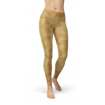 Camouflage AFGH Blotch 74-1 Pattern Camo Leggings