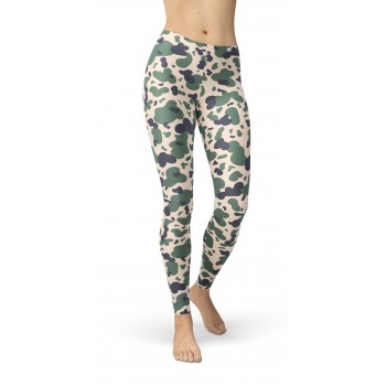 Camouflage AFGH Duck Hunter 80 Pattern Camo Leggings