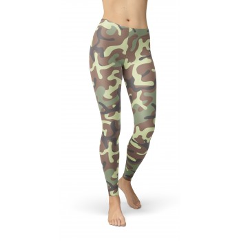 Camouflage Jungle 48 Pattern Camo Leggings