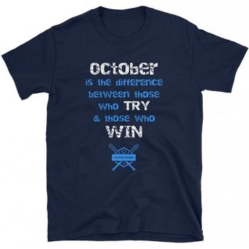 October Baseball Short-Sleeve T-Shirt (2019)