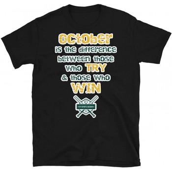 Oakland Baseball Playoffs Short-Sleeve T-Shirt (2019)