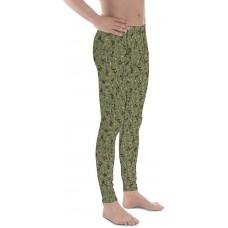 Camouflage Pattern NWU 3 Tropic Pix 2010 Men's Camo Leggings