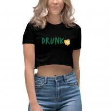 Drunk-ish Women's Crop Top Shirt