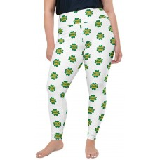 St. Patty's Day Pinch Proof Plus Size Leggings