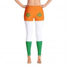 Pinch Proof Irish Flag St. Patty's Day Leggings