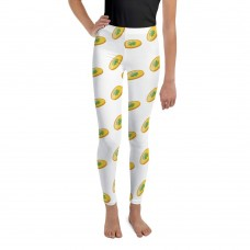 Lucky Coins with 4 Leaf Clovers Youth / Children's Leggings