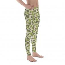 Camouflage Pattern Jungle 4 Green Parachute Men's Camo Leggings