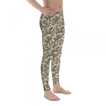 Camouflage Pattern Jungle 1948 Men's Camo Leggings