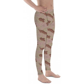 Camouflage Pattern Chocolate Chip 1977 Men's Camo Leggings
