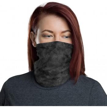Black Smoke Neck Gaiter, Headband, Neck Warmer
