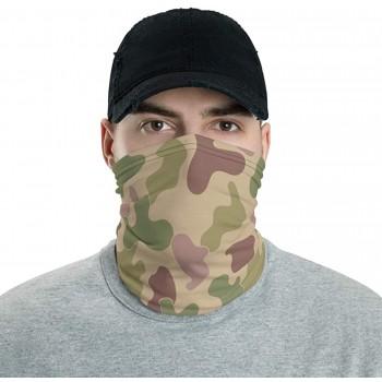Jungle Camo Neck Gaiter, Headband, Neck Warmer