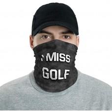 I Miss Golf Neck Gaiter, Headband, Neck Warmer