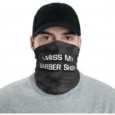 I Miss My Barber Shop Neck Gaiter, Headband, Neck Warmer