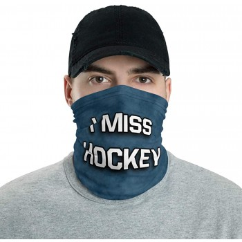 I Miss Hockey Neck Gaiter, Headband, Neck Warmer