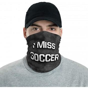 I Miss Soccer Neck Gaiter, Headband, Neck Warmer