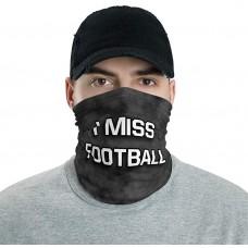 I Miss Football Neck Gaiter, Headband, Neck Warmer