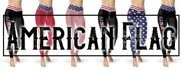 Buy American Flag Leggings Online