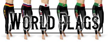 Buy World Flag Leggings Online