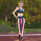 Women's Striped Leggings