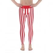 Men's Striped Leggings